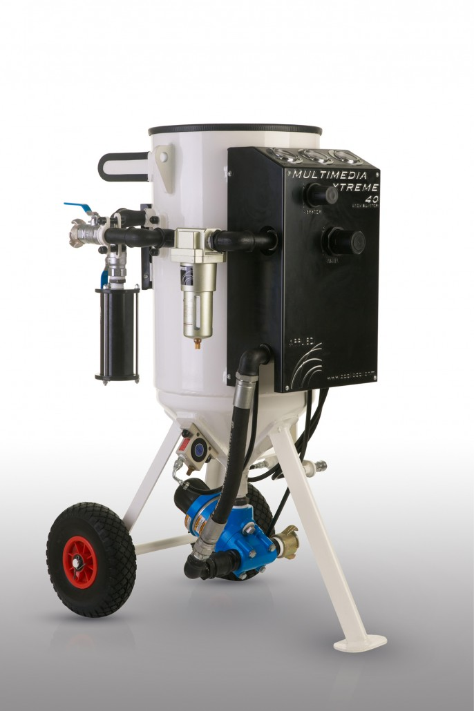 Soda Blasting Machines & Equipment Available in Ireland